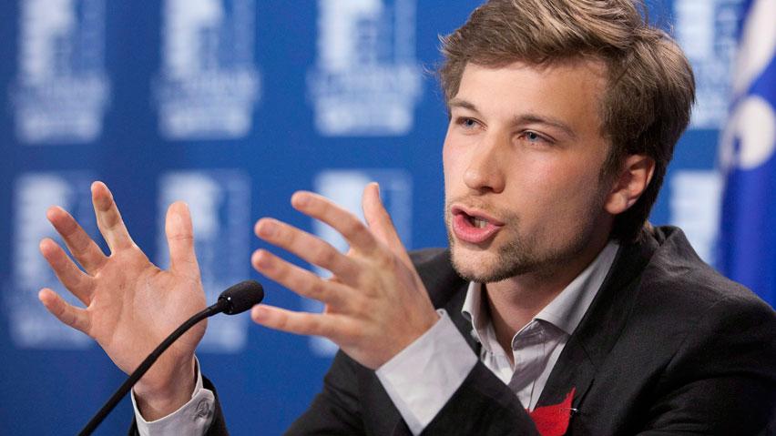 Gabriel Nadeau-Dubois ferait le saut en politique avec QS