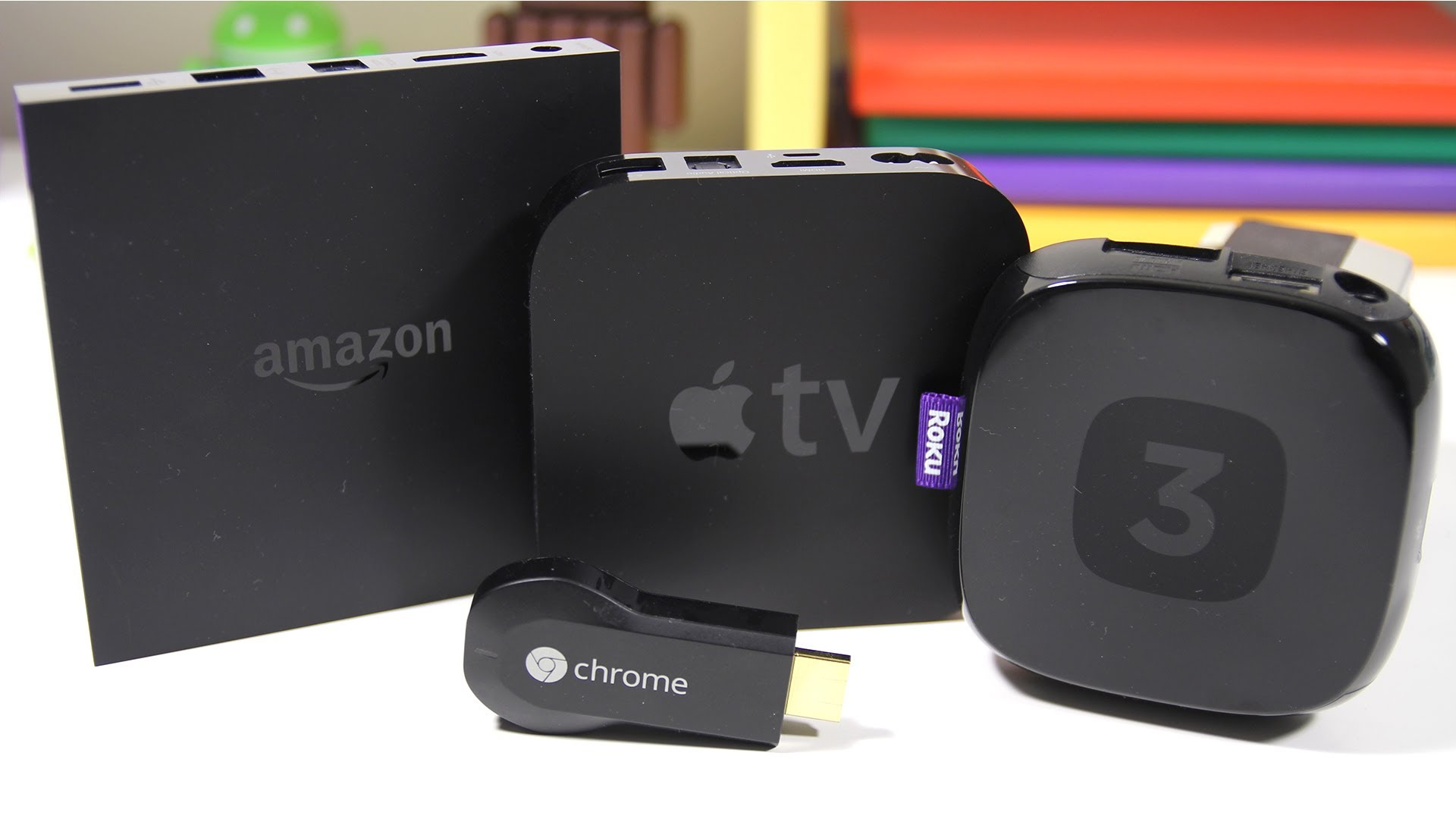 Amazon réintègre l'Apple TV et Chromecast